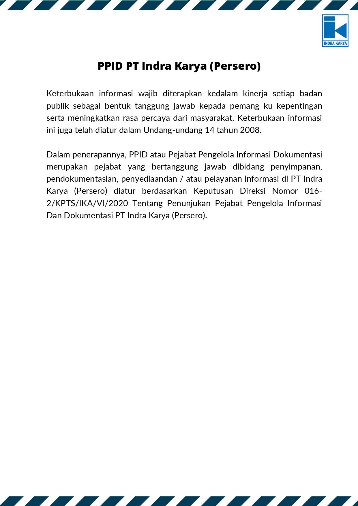 PPID Indra Karya